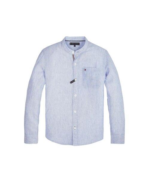bc467d9eac1 Comparar. Camisa Tommy Hilfiger lino azul