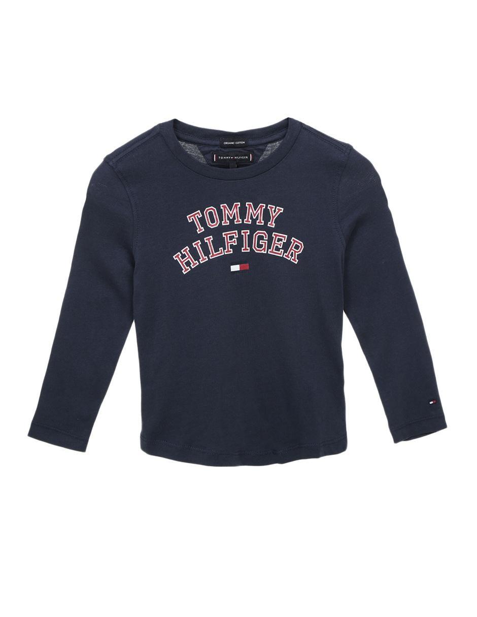 81b991ee75ff3 Playera Tommy Hilfiger algodón para niño