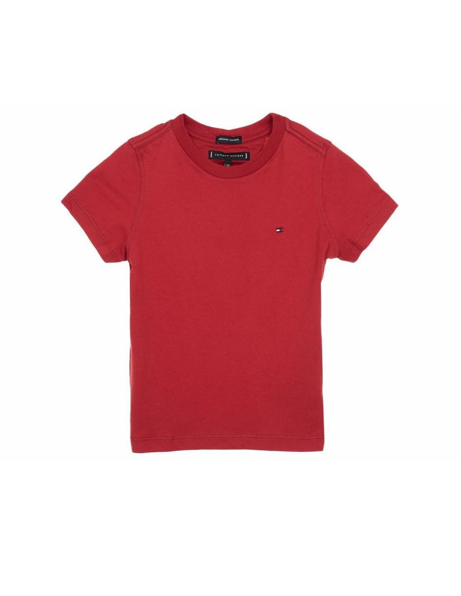 Playera Tommy Hilfiger algodón para niño 495d63fbb4e26