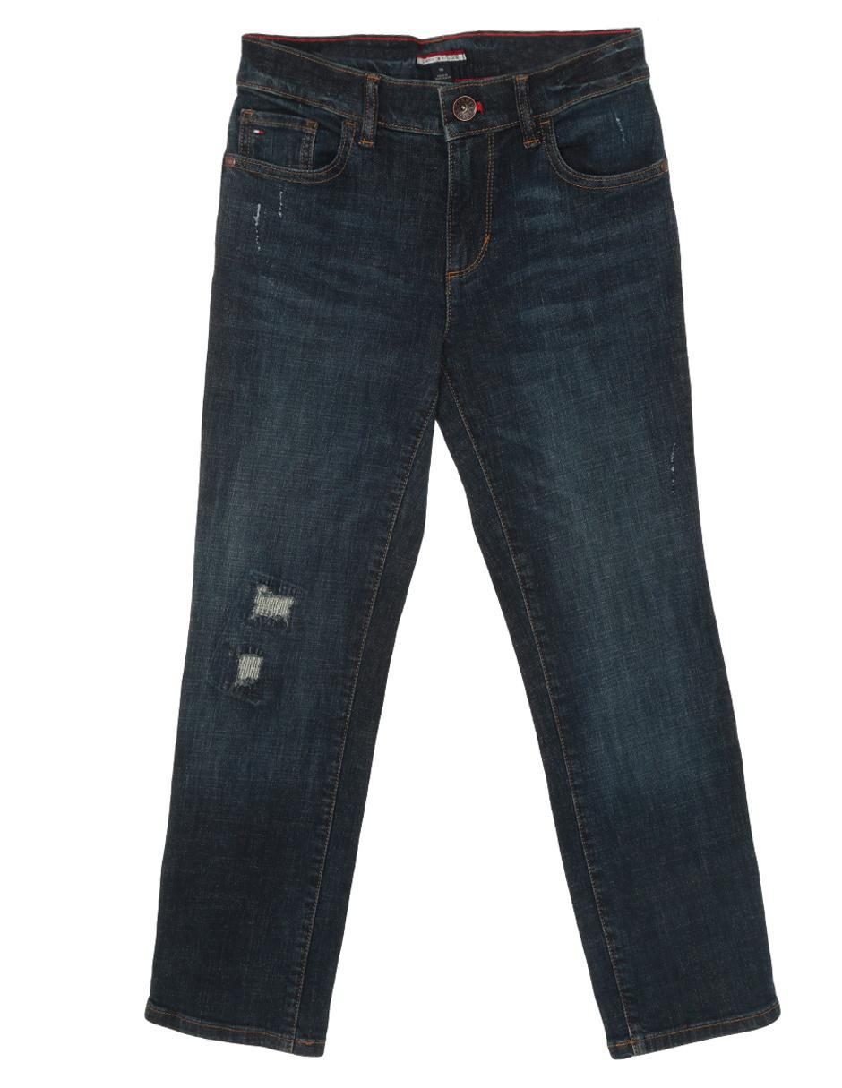 Jeans Slim Tommy Hilfiger 7185715 951 Denim Para Nino En Liverpool